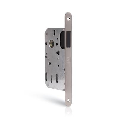 Zamek drzwiowy magnetyczny z regulowaną blachą zaczepową POKOJOWY