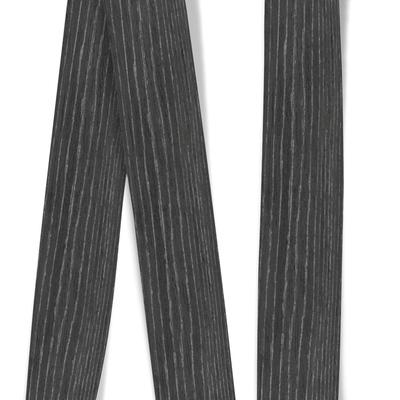 Obrzeże okleiny modyfikowanej Dąb Czarno-Srebrny, grubość: 0,6 mm