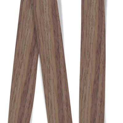 Obrzeże okleiny modyfikowanej Orzech 0518F1, grubość: 0,6 mm,