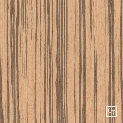 Zebrano ZE-0021PS Fornir - okleina  modyfikowana drewnopodobna