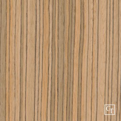 Zebrano ZE-0001PS Fornir - Okleina modyfikowana drewnopodobna