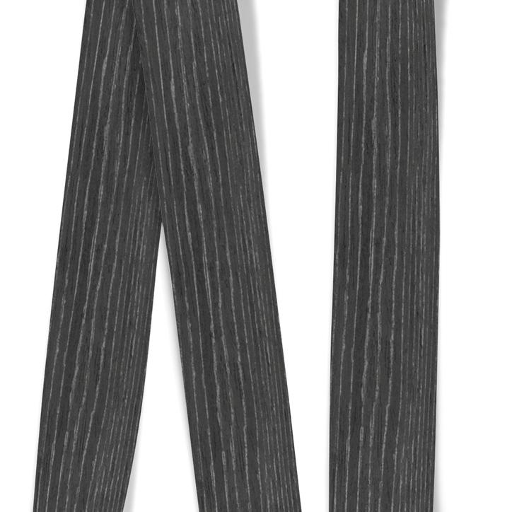 Obrzeże okleiny modyfikowanej Dąb Czarno-Srebrny, grubość: 0,6 mm (1)