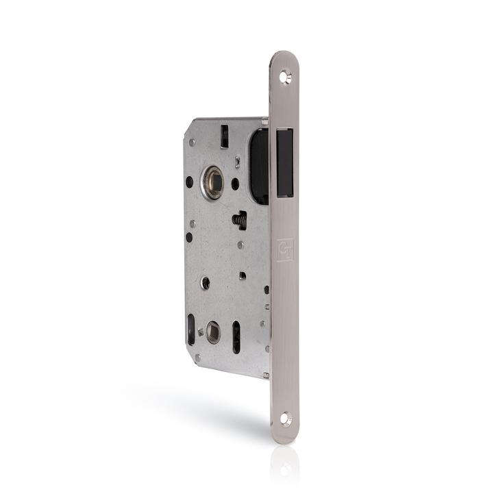 Zamek drzwiowy magnetyczny z regulowaną blachą zaczepową WC (1)