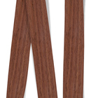 Obrzeże okleiny modyfikowanej Teak 0018PS, grubość: 0,6 mm, (1)